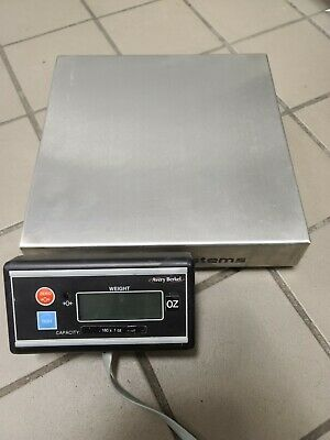 Avery Berkel 6708 Stainless Steel Digital Scale Tested & Working W/All Cables