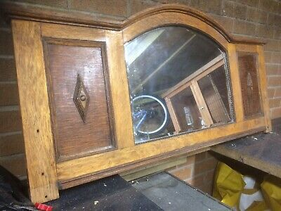 Old Hall / Lounge Character Mirror  Came Out Of Larry Graysons Former House