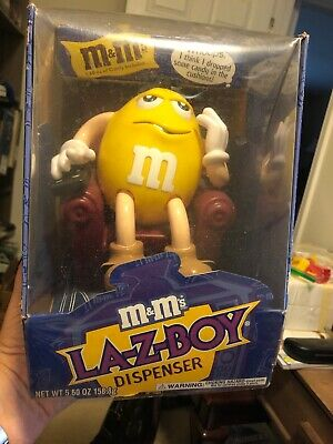 M&M's Lazy Boy Candy Dispenser With Box