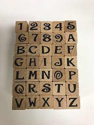 Jive Alphabet & Numbers #29663Q By Stamp Craftk
