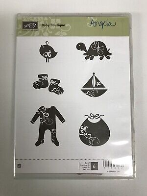 Stampin' Up! Baby Boutique Clear Mount Stamp Set