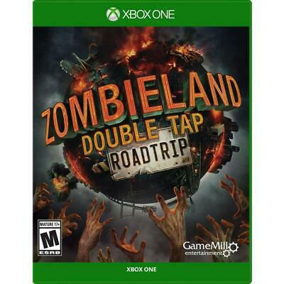 XBOX ONE - ZOMBIELAND DOUBLE TAP ROADTRIP -no cd(read description before buying)
