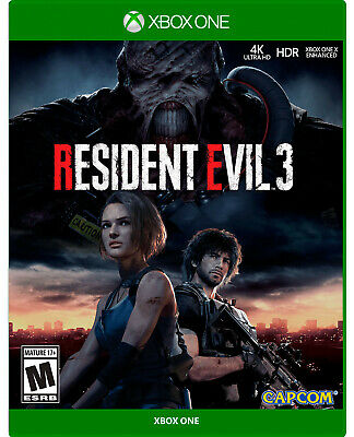RESIDENT EVIL 3 REMAKE XBOX ONE (NO CD) - READ DESCRIPTION before buying