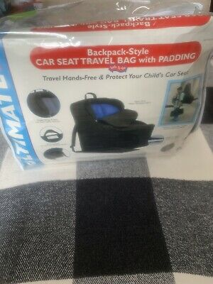No Reserve!Ultimate Childress Backpack Style Car Seat Travel Bag with Padding.