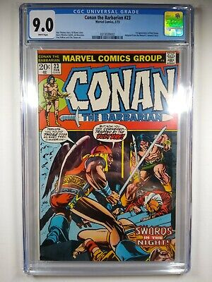 Conan the Barbarian #23 CGC 9.0 1st full appearance of Red Sonja 1 Sal Buscema