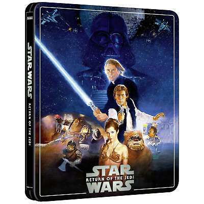 Star Wars Ep Vi Return Of The Jedi 4K + Bd Steelbook Zavvi Exclusive [Uk]