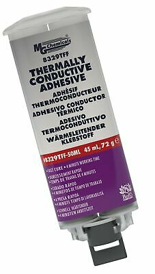 MG Chemicals 8329TFF Thermally Conductive Adhesive - Fast Cure Epoxy, 45 mL D...