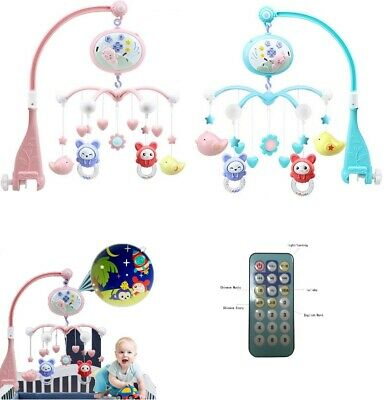 Baby Crib Mobile Bed Bell Holder Toy Hanging Arm Bracket Decoration Music Box