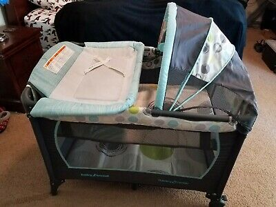 Baby Trend  Playard with Removable Bassinet, changing pad, canopy