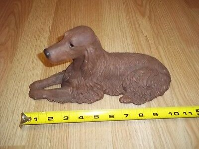 Sandcast  - Sandicast Signed Sandra Brue RED SETTER IRISH SETTER