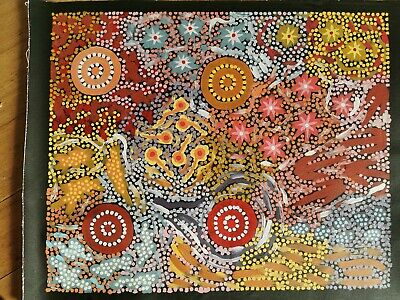 Michelle Possum, Highly Collectable Art, 56 x 42cm. GrandMothers Country