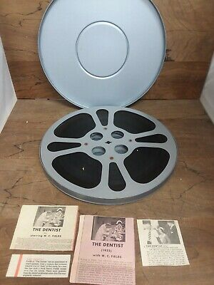 Vintage Film 16mm , Sound  THE DENTIST  W.C. Field 1932