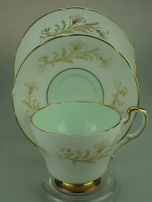 Vintage Paragon English China 138 Trio of Tea Cup, Saucer & Side Plate KC570
