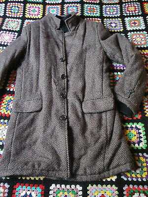 VESTE MANTEAU LITTLE PAUL AND JOE 11 12 ANS LAINE TBE PALETOT CABAN Blouson
