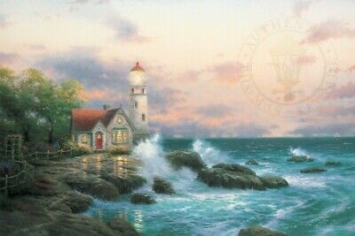 Beacon of Hope Print  by Thomas Kinkade in 11 x14  Matte with COA Sealed - NEW