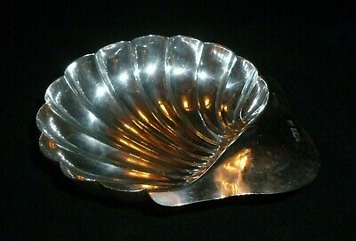 Antique Solid Silver Butter Shell by Atkin Brothers, assayed Sheffield 1903