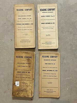 Reading Railway System Timetables