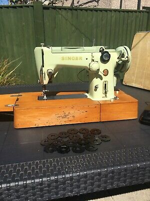 Singer 320K Free Arm Sewing Machine Fully Serviced And Working Fine With Extras