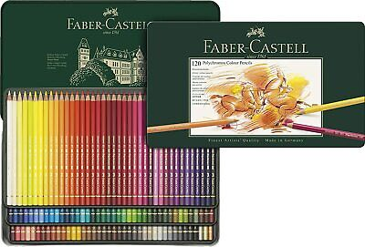 Faber-Castell - Tin of 120 Polychromos Artists' Pencils BRAND NEW FACTORY SEALED