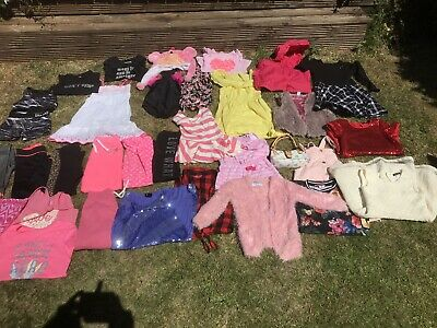 Girls Clothes Bundle Age 7-8 Years.