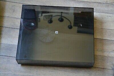 Used Rega Planar 3  Plinth With Dust Cover No Arm No Motor No Platter