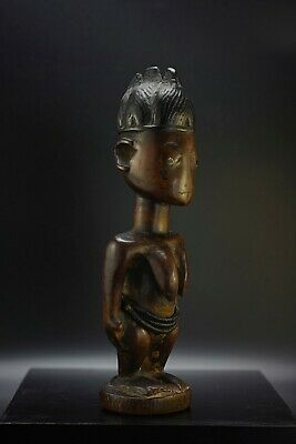 STATUETTE YORUBA NIGERIA IBEJI IBEDJI GRANDE COLLECTION  19ème SIECLE