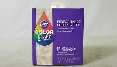 Wilton Color Right Performance Party Decor 8 Food Color Set