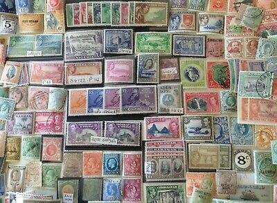BRITISH EMPIRE/Commonwealth. About 400 stamps,mint & used.