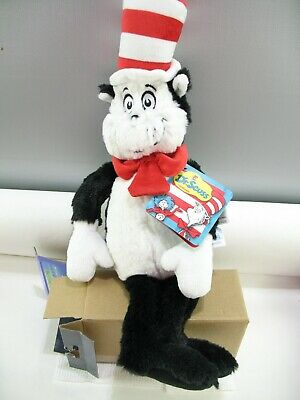 Dr. Seuss  The Cat in The Hat plush toy with tag