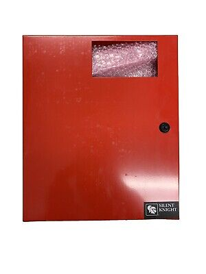 Silent Knight SK2224 Fire Control Panel Red