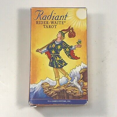 Radiant Rider Waite Tarot Cards 78 Cards and Instruction Booklet