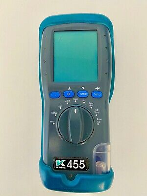 Kane 455 flue gas analyser calibrated and in perfect working order.