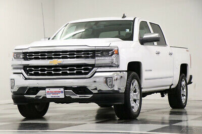 2018 Chevrolet Silverado 1500 LTZ Crew Cab  4WD  4X4  Heated Cooled Leather Came Like New Used Heated Cooled Seats Bluetooth Remote Start 19 18 2019 20 Cab 5.3L