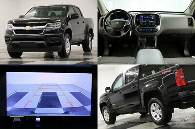 2020 Chevrolet Colorado 4X4 LT Camera Black Crew Cab 4WD Like New Used 1 Owner Bluetooth Warranty 18 19 20 2018 Truck