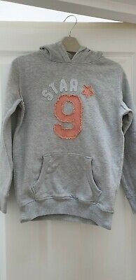 Girls Next Grey Hoodie. Age 8