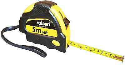 Rolson 50535 5m X 19mm Measure Tape Hand Measures Tools Pack Of 1