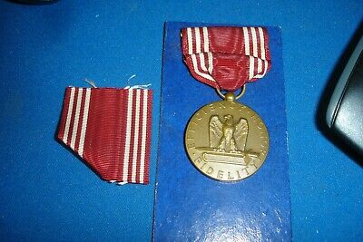 Wwii Us Army Good Conduct Medal   Ww2