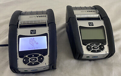 *Lot of 2* Zebra QLn320 Printer w/ Battery Used GREAT Condition *1 Battery*