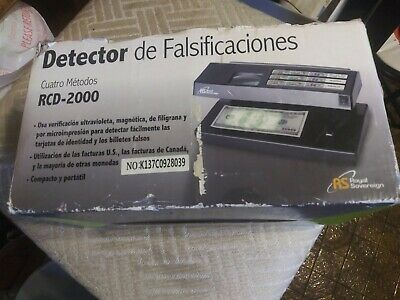 Counterfeit Detector 4-way, Royal Sovereign RCD-2000