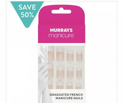 Murrays French Manicure Nails 24 Pc Rrp £6:00