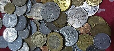 Bulk Lot 10× Random World Coins From 10 DIFFERENT Countries - Free Post Job Lot