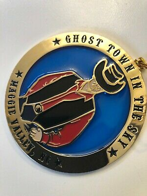Ghost Town in the sky VINTAGE Christmas Ornament. Hard to find! Maggie Valley NC