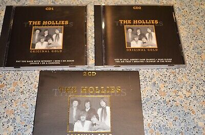 THE HOLLIES THE HOLLIES ORIGINAL GOLD 2 CD´s