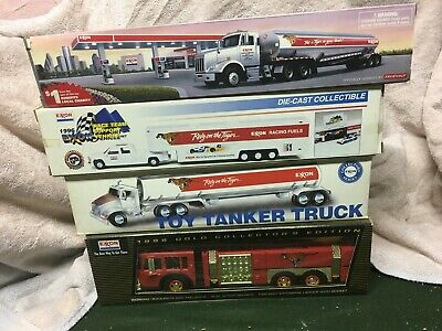 4 Exxon truck collection