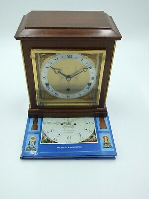 """Vintage """"Elliott"""" 8 Day Mantle Clock With Westminster and Whittington Chimes"""