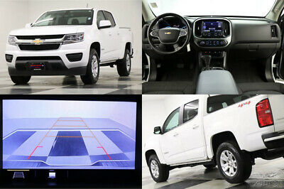 2020 Chevrolet Colorado 4X4 LT Camera Summit White Crew Cab 4WD Like New Used Bose Remote Start Bluetooth 1 Owner 18 19 2018 20 Warranty