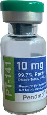 PT-141 (Bremelanotide) 10mg 99.7% Purity Double-Tested