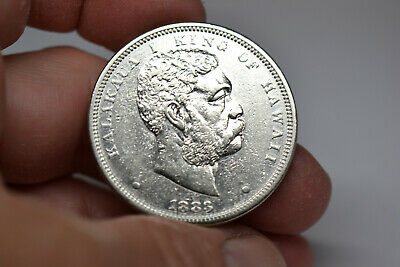 1883 Hawaii Silver Dollar- Very Strong Details and Nice Luster-  RARE!