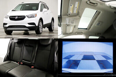 2020 Buick Encore MSRP$27290 Preferred Sunroof Leather Summit White New Moonroof Heated Black Seats Camera Bluetooth Remote Start Keyless 18 19 20
