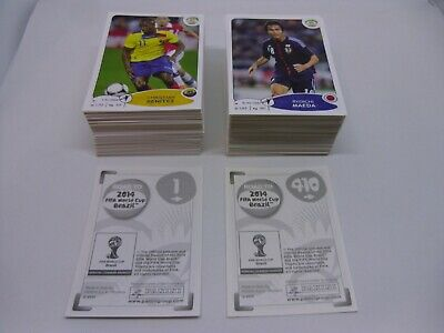 PANINI ROAD TO 2014 FIFA WORLD CUP BRAZIL Complete Loose Set of 410 stickers
